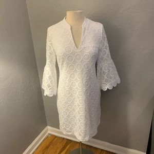 COPY - Lilly Pulitzer zelle crochet lace dress wh…